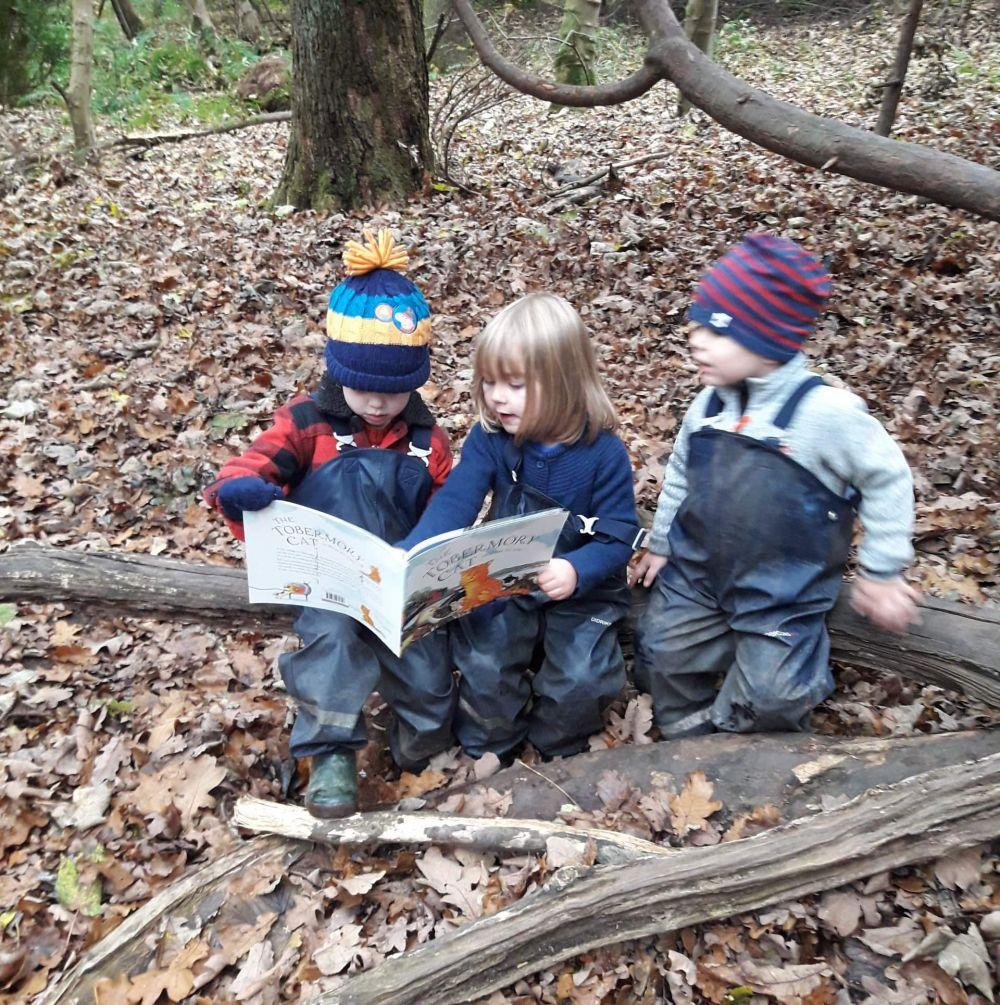 Developing Literacy Skills Outdoors
